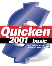 Quicken 2001 Basic [CD-ROM] [CD-ROM] - $10.88
