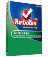 TurboTax Business + eFile 2008 [OLD VERSION] [CD-ROM] [CD-ROM] - $29.59