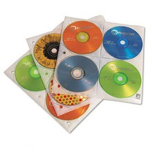 Two-Sided CD Storage Sleeves for Ring Binder, 25/Pack [Electronics] - $17.81