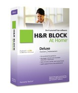 H&R Block At Home 2010 Deluxe Federal + eFile [Old Version] [CD-ROM] [CD... - $19.79