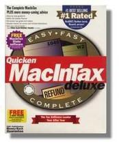 1999 TurboTax Mac Deluxe Federal Intuit Turbo Tax [CD-ROM] [CD-ROM] - $39.59