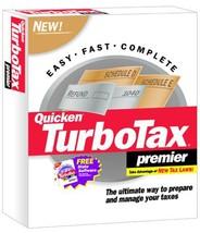 Turbo Tax 2001 Premier [Cd Rom] [Cd Rom] - $197.96