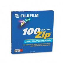 Fuji : Disk ZIP 100MB IBM/MAC dual Fmt -:- Sold as 2 Packs of - 1 - / - ... - $10.83