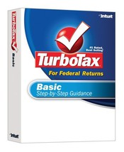 TurboTax Basic 2007 [OLD VERSION] [CD-ROM] [CD-ROM] - $2.25