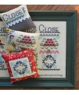 Gather Friends Close: Pt 3 Cushion Series cross stitch chartpack Hands On Design - $14.40