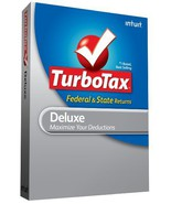 TurboTax Deluxe Federal + eFile + State 2009 [CD-ROM] [CD-ROM] - $10.88