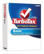 TurboTax Basic 2007 [OLD VERSION] [CD-ROM] [CD-ROM] - $5.99