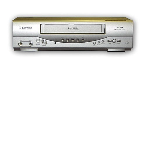 Emerson EWV403 4-Head Video Cassette Recorder with On-Screen Programming Display - $177.21