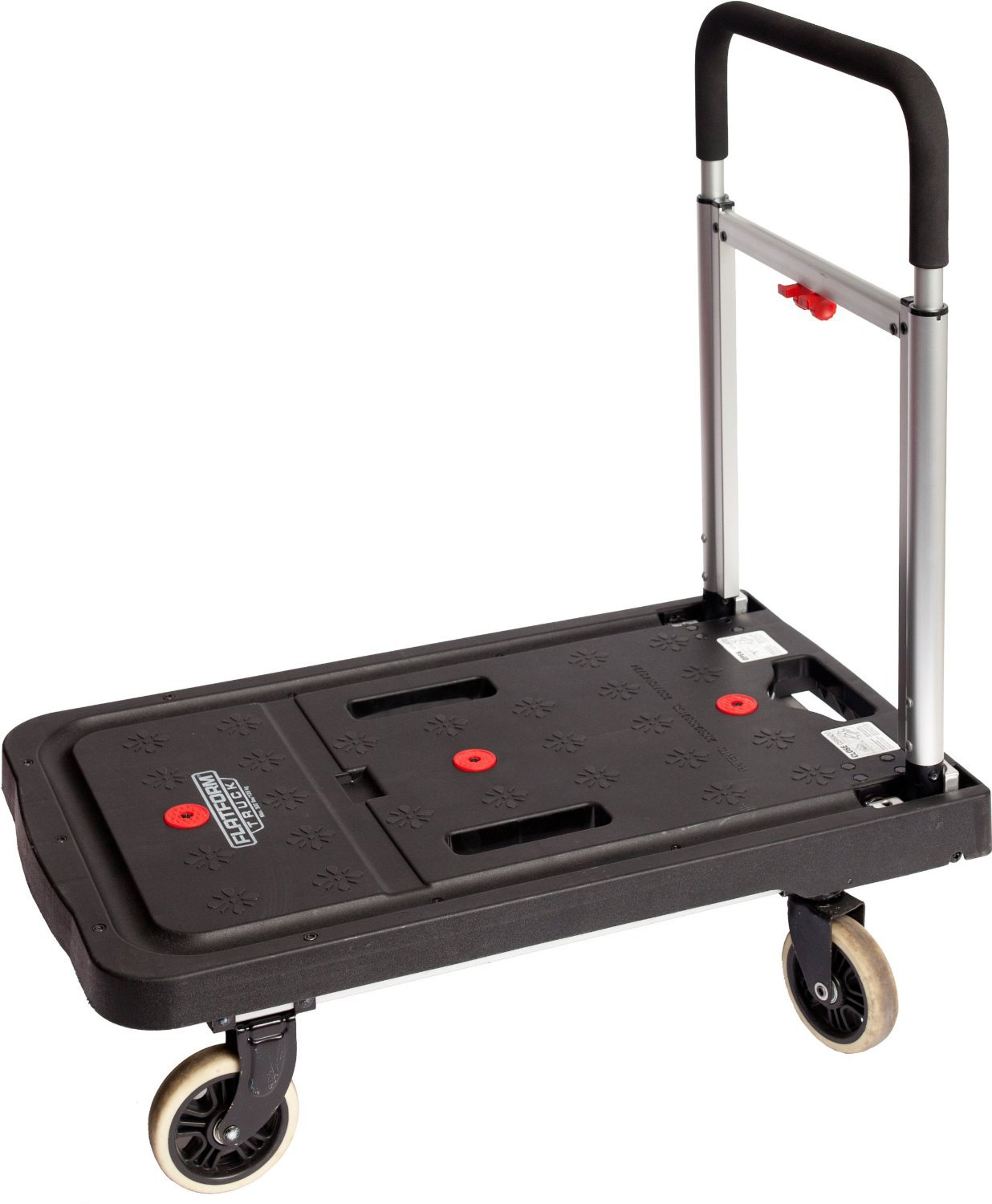 Folding Dolly Cart Office Furniture Utility Rolling Move