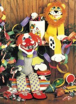 X910 Plastic Canvas Pattern Only Sock Circus Pals Pattern - $7.50