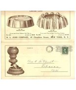 Judd Co 1913 brochure furniture caster cups NY advertising antique vintage - $7.00