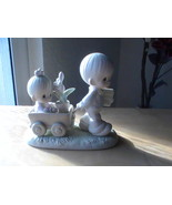 """1989 Precious Moments """"Easter's On Its Way"""" Figurine  - $35.00"""