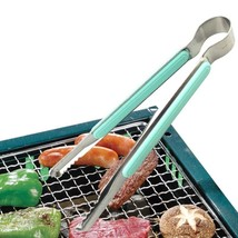 Kitchen Tongs Stainless Steel BBQ Salad Cooking Utensil Grill Clip Clamp... - $9.29