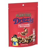 Planters Limited Edition Drizzle Roasted Cashews With Milk Chocolate 5oz - $9.89
