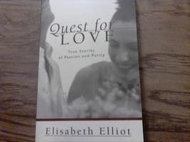 Quest for Love By Elisabeth Elliot (1996 Paperback) - $3.50