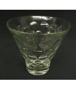 Designer Glass Dish 5in x 5in x 5in BF647 * Glass - $12.34