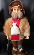 Vintage Australian sheep herder man doll figurine souvenir - $9.89