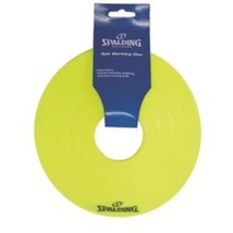 Spalding Basketball Disc Cones Yellow Pack Of 4 - $13.09