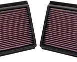 K&N Drop In Replacement Panel Air Filter Fits 2011-2013 Infiniti M37 3.7L V6