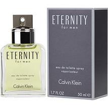 Eternity By Calvin Klein Edt Spray 1.7 Oz - $110.00