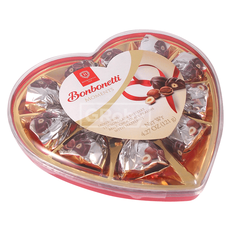 Primary image for Bonbonetti Moments Milk Chocolate Praline with Hazelnut 121 g/4.2oz