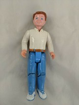 Fisher Price Dream Dollhouse Dad Man White Shirt Blue Pants 1993 - $10.95