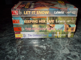 Harlequin super romance Sherry Lewis lot of 4 contemporary romance paper... - $4.99