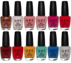OPI NAIL LACQUER (SELECT YOUR COLOR) NEW WITH RARE Discontinued Colors F... - $8.42+