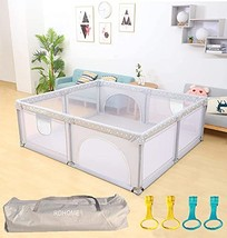 Baby Playpen Portable Kids Playyard with Gate, Indoor & Outdoor Child Ac... - $253.15+