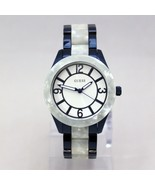 New GUESS W0074L3 Marbleized Blue Stainless Steel  Women Watch - $126.72