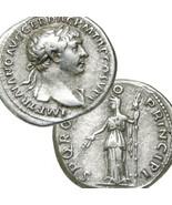 TRAJAN, Ceres. Rare Woytek 223c Ancient Imperial Roman Silver Denarius C... - $260.10