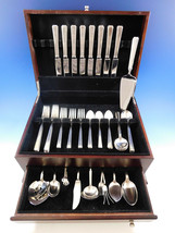 Modern Classic by Lunt Sterling Silver Flatware Set for 8 Service 52 pieces - $3,100.00