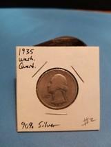 1935 Washington Quarter Better Date 90% Silver!!! LOOK!!!  - $5.69