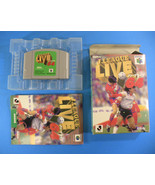 J League Live 64 ~ Complete in Box CIB (Nintendo 64 N64, 1997) Japan - $17.41