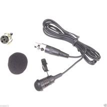 W32 Cardioid Lapel Lavalier Clip Microphone For Shure Wireless bodypack ... - $19.75