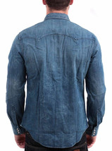 Levi's Men's Classic Long Sleeve Denim Button Up Casual Dress Shirt 81005 image 2
