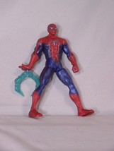 """Hasbro SPIDER-MAN web slinger, squeeze legs together to retract, approx. 6"""" tall - $5.96"""