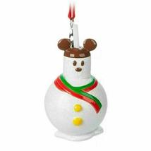 NWT Disney Parks Sweet Treats Mickey Snowman Christmas Ornament - $14.80