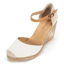 White Mountain 'mamba' Women's Sandal, Natural Fabric - 10 M - $34.27