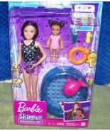 Barbie Skipper BABYSITTERS INC Doll & Toddler Kiddie Pool Playset New - $32.50