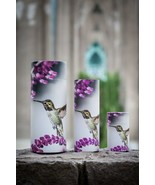 Set of Large, Med & Small Hummingbird Scattering Tube Cremation Urns for... - $229.99