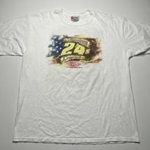 Vintage Jeff Gordon DuPont Motor sports Double Sided Graphic NASCAR Shir... - £21.54 GBP