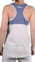 Bench Womens Blue Light Grey Unballoo Tank Top Sleeveless Vest BLGA2531 NWT image 3