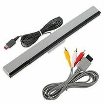 Nintendo Wii Power Cord Supply,  Sensor IR Motion Bar Sensor , Av Cable, Base  - $8.86+