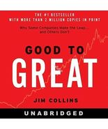 Good to Great: Why Some Companies Make the… by Jim Collins (2005, CD Una... - £15.25 GBP