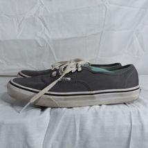 Vans Gray Classic Sneakers Shoes Men's Size 6 Women's Size 8 EUR 38.5 Lace Up image 4