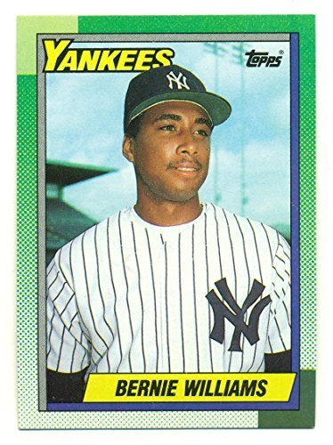 Lot of 10 1990 Topps Bernie Williams #701 Rookie Card RC - New York Yankees - Ba