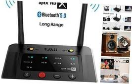 1Mii Long Range Bluetooth 5.0 Transmitter Receiver Bluetooth Audio Adapt... - $89.53
