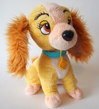 Disney Lady and the Tramp Movie Book Plush Dog Doll Stuffed Animal Brown... - $9.99