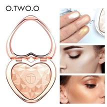 O.TWO.O Shimmer Highlighter Powder Palette Face Contouring Makeup Highli... - $10.99